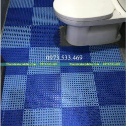 Thảm nhựa ghép chống trơn nhà tắm