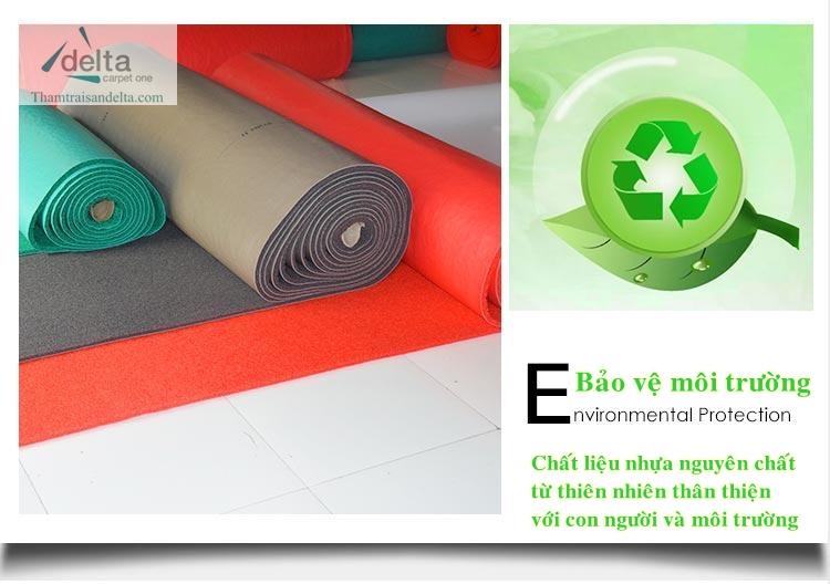 Công dụng thảm nhựa rối