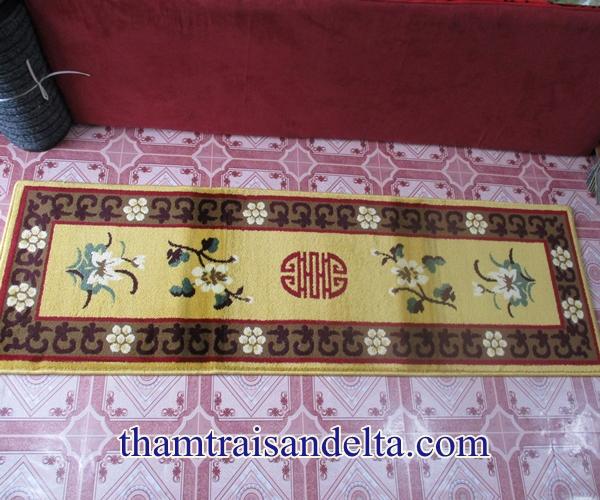 thảm trải ghế gỗ