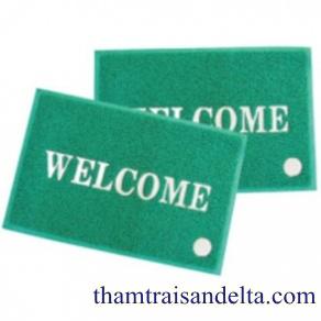 Thảm welcome màu xanh lá