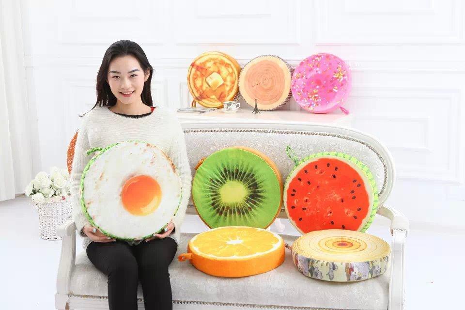 Gối hoa quả 3D