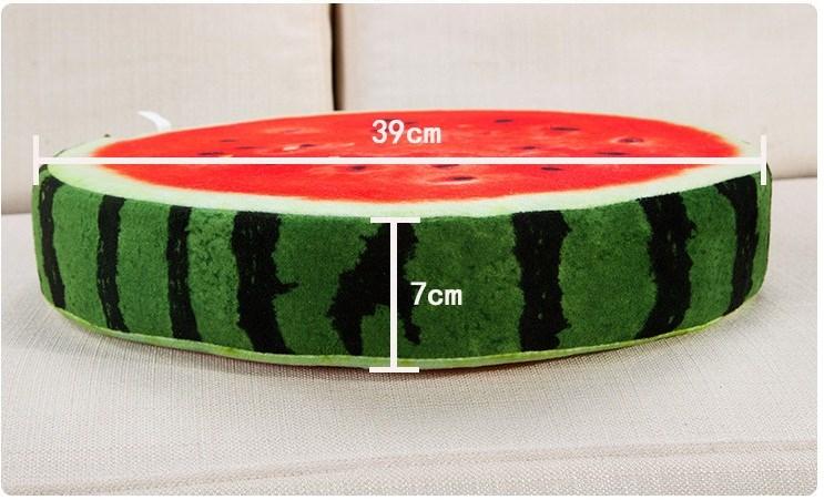 Kích thước gối hoa quả