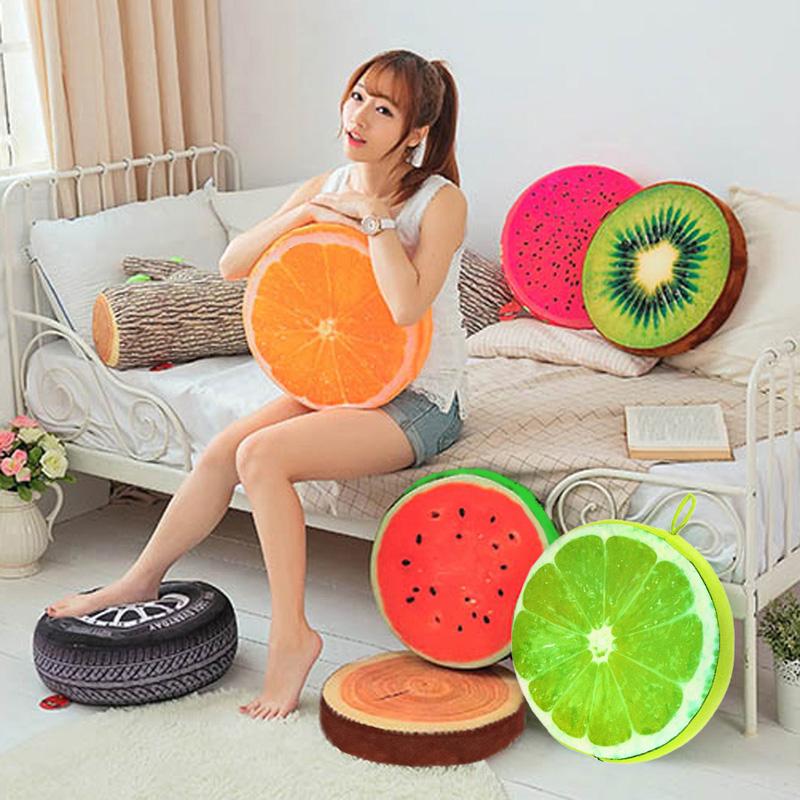 Gối trái cây 3D