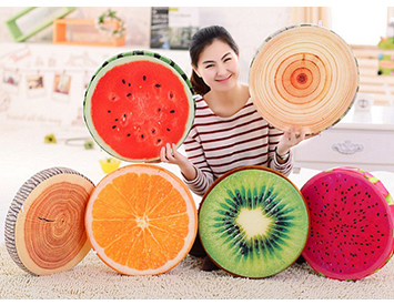 Gối trái cây 3d giá rẻ