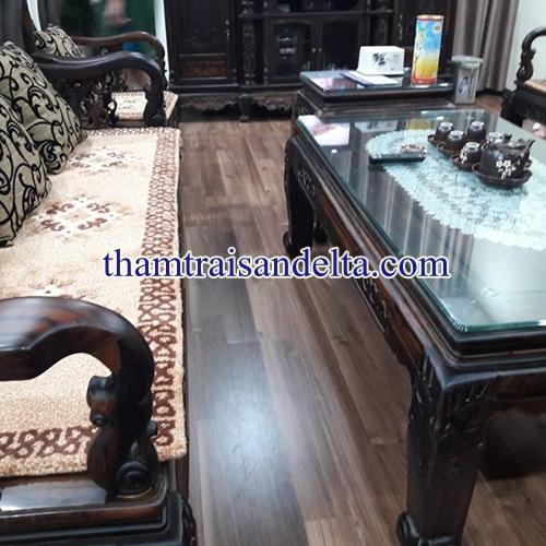 thảm ghế len