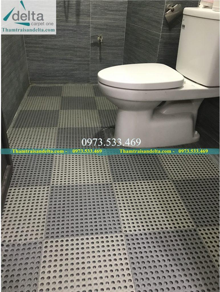 Thảm nhựa ghép nhà tắm