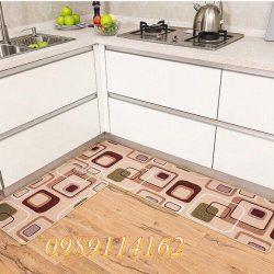 Thảm Bếp Ô Vuông
