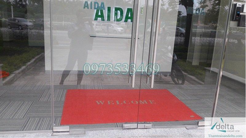 Thảm chùi chân tại Hà Nội